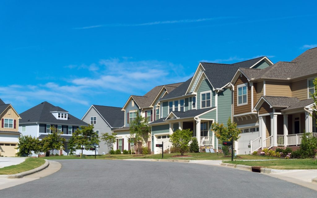 single family residential neighborhood