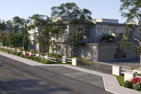 Recker Road Townhome Front Street View