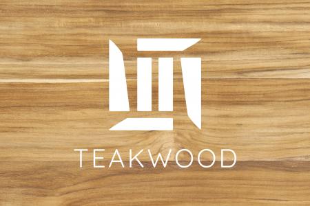 Textureofwoodboardbackgroundmadeofteakwoodwoodstripwo