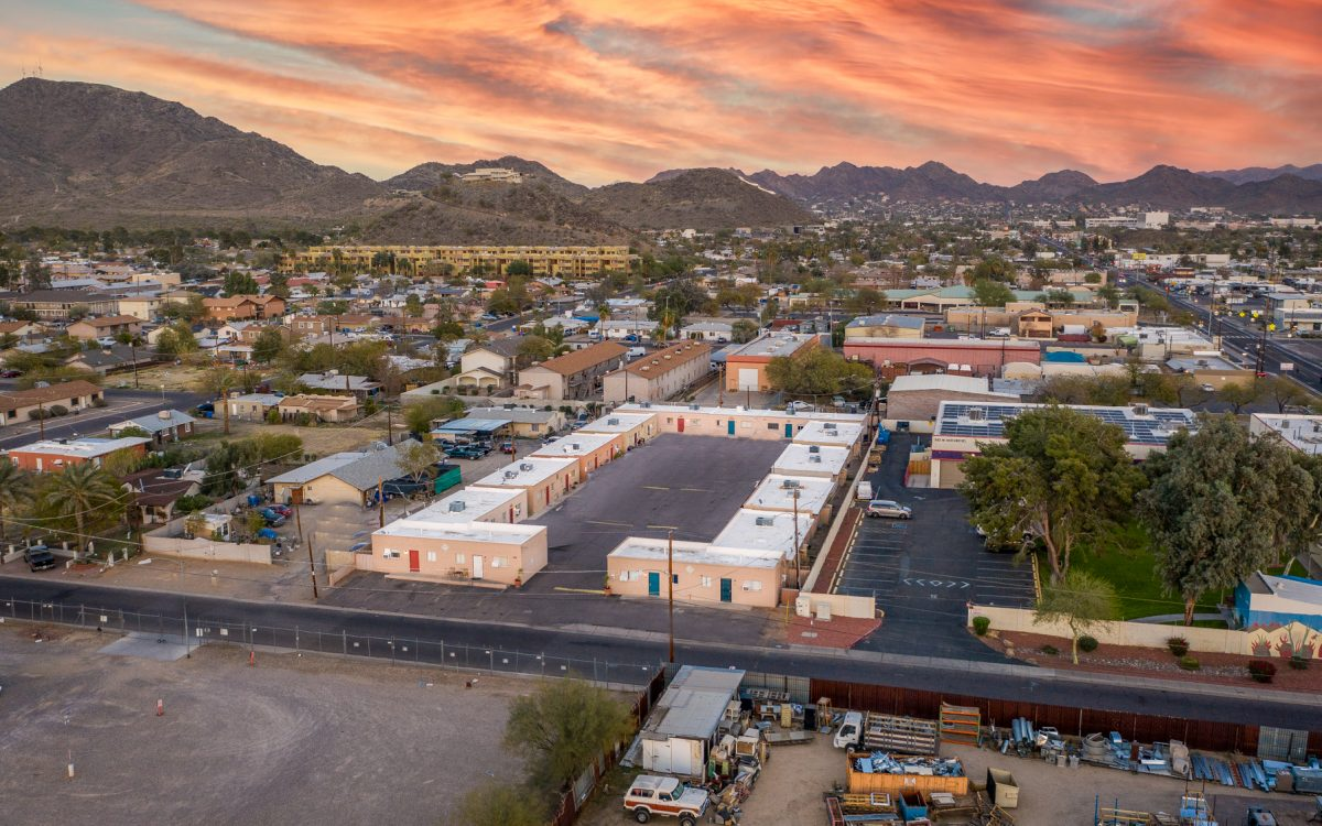 Drone view of Westmere in Phoenix, AZ